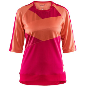 Craft Hale XT - Maillot manches courtes Femme - orange/rouge